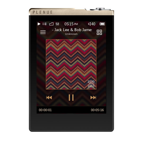 Cowon Plenue D High Resolution 32GB Music Player with microSD Expansion Slot GOLD